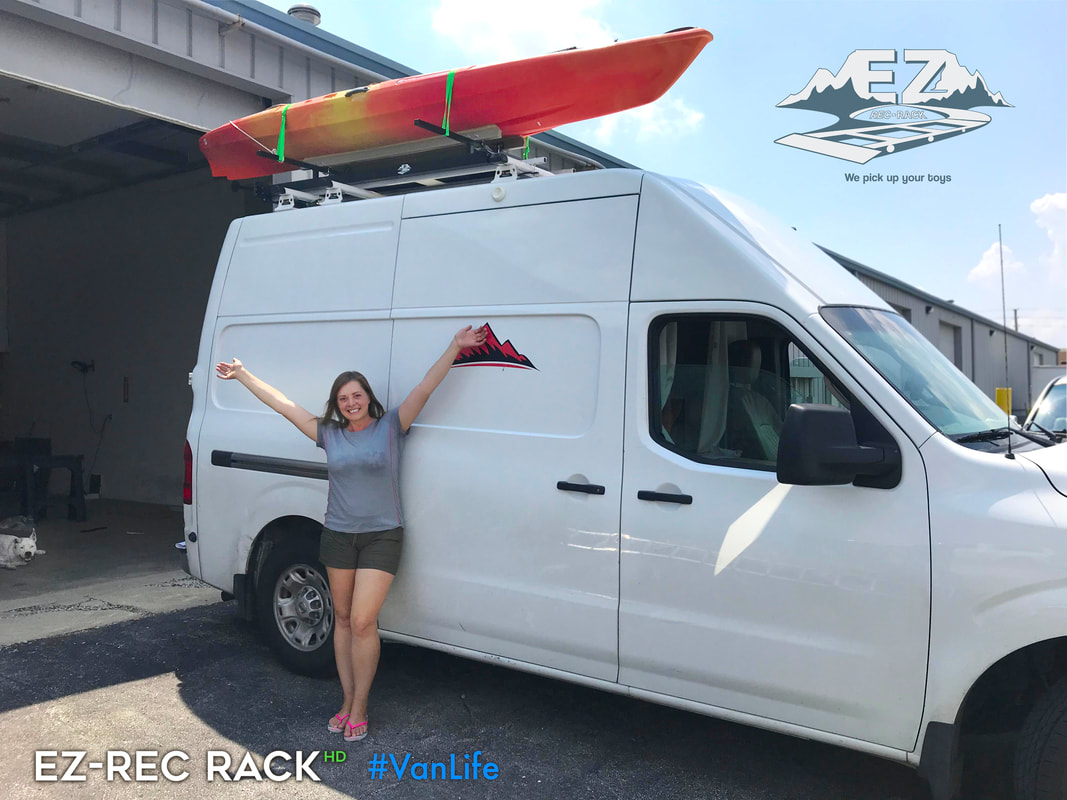 EZ Rec Rack meets #VanLife
