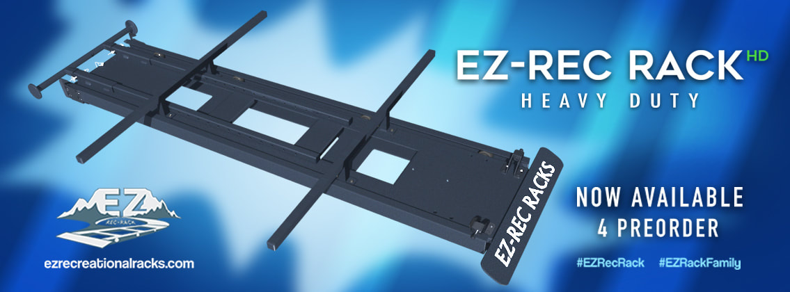 EZ Rec Rack, heavy duty, ez rec rack hd, kayaking, paddling, rooftop, loader, roof rack